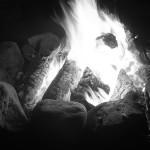 Como hacer una fogata ardiente